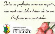 Homenagem - Dia do Professor
